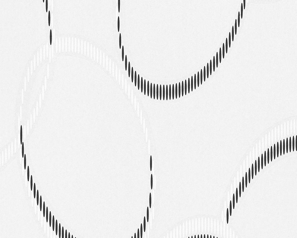 vliestapete berstreichbar design wei schwarz ap pigment 95178 1. Black Bedroom Furniture Sets. Home Design Ideas
