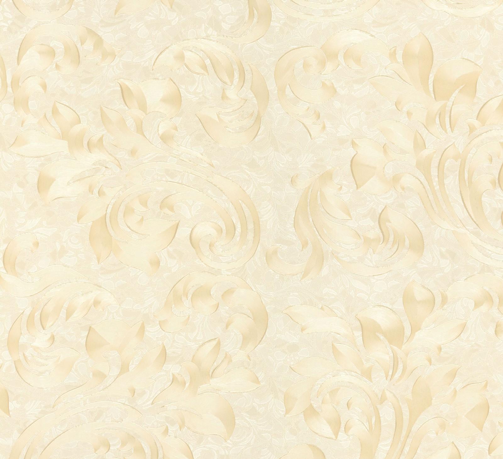Marburg Tapeten Opulence : Vliestapete creme Blumen Opulence Marburg 56034