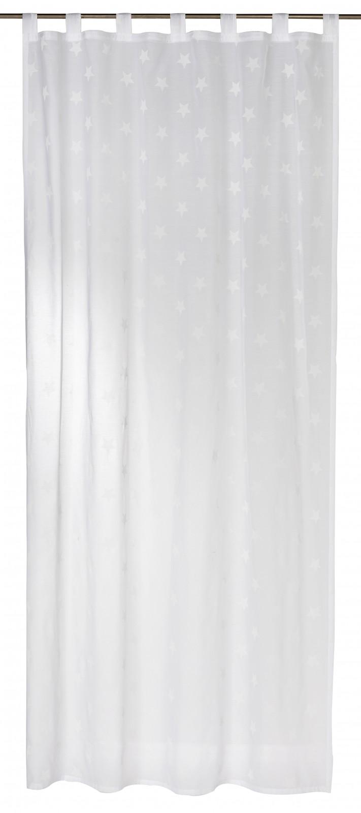 schlaufenschal wei halbtransparent 140x255cm 197476. Black Bedroom Furniture Sets. Home Design Ideas