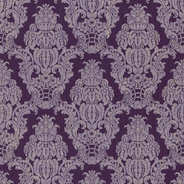 Barock Tapete Lila Silber : Tapete lila silber barock seraphine 076386