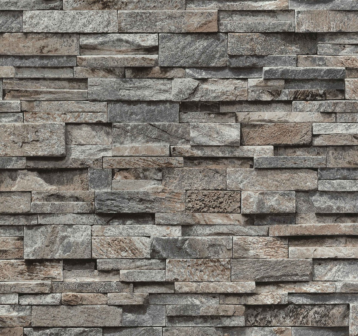 vliestapete grau steine mauer ps 02363 20. Black Bedroom Furniture Sets. Home Design Ideas