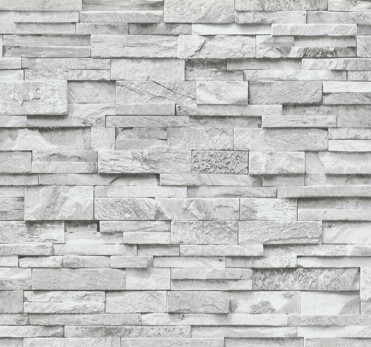 vliestapete grau steine mauer ps 02363 30. Black Bedroom Furniture Sets. Home Design Ideas