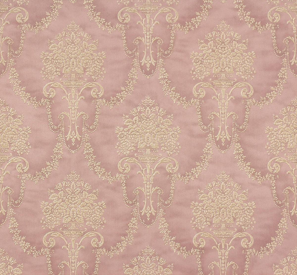 vliestapete rasch trianon barock rosa creme 514971. Black Bedroom Furniture Sets. Home Design Ideas