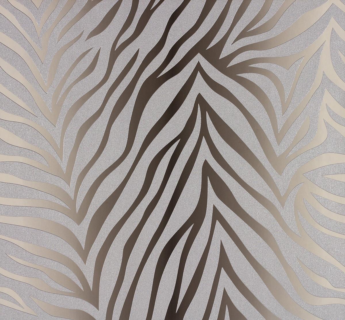 Marburg Tapeten Designer : Tapete Nena Designer Marburg Zebra braun 57265