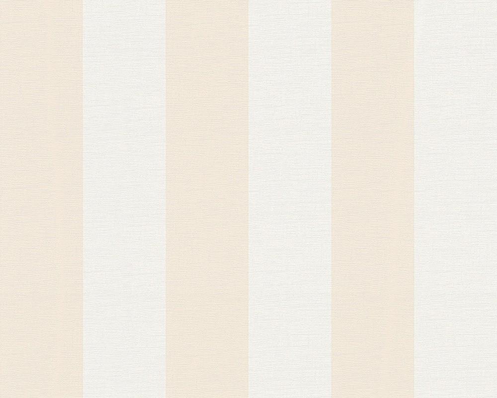 tapete creme orange streifen as creation 3140 48. Black Bedroom Furniture Sets. Home Design Ideas