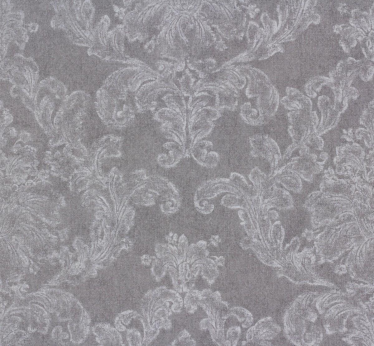 tapete elegance as creation ornamente grau wei 30518 4. Black Bedroom Furniture Sets. Home Design Ideas