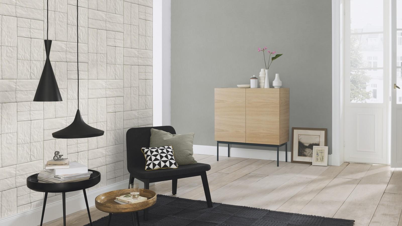 Tapeten Flur Streifen Grau Weiß : Artikelnummer: 524307 Hersteller ...