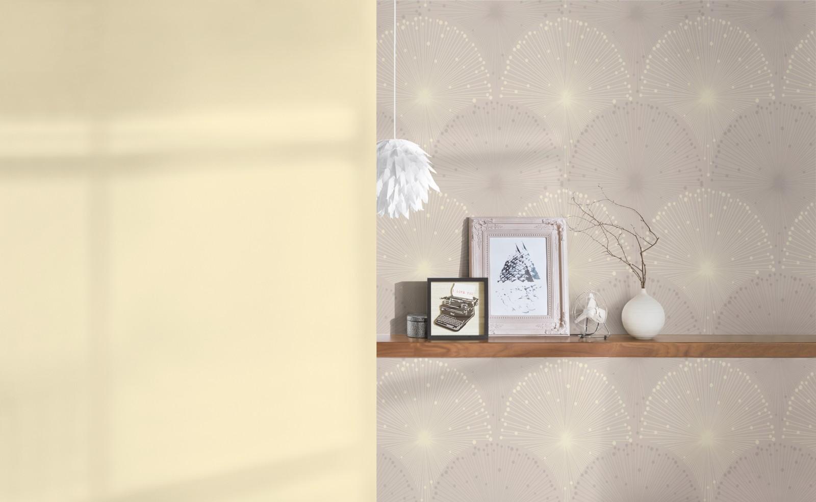 tapete grafik as creation spot grau gelb 30546 2. Black Bedroom Furniture Sets. Home Design Ideas