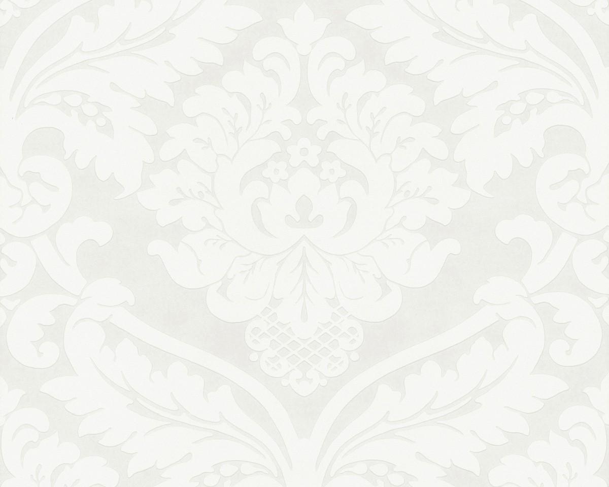 vliestapete barock wei creme livingwalls 5543 38. Black Bedroom Furniture Sets. Home Design Ideas