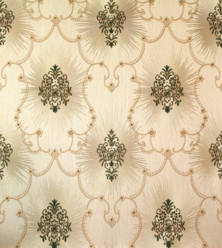 Hermitage 8 baroque satin wallpaper 8872-14 887214 green online kaufen