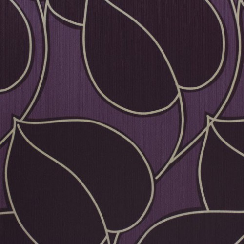 Wallpaper Jade non-woven wallpaper 858559 8585-59 leaves purple gold online kaufen