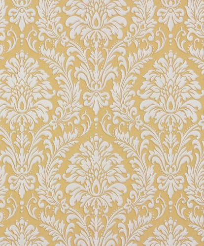 wallpaper rasch non-woven wallpaper Trianon baroque ocher silver 512830 online kaufen