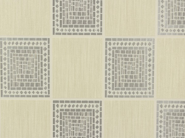Wallpaper Chicago A.S Création wallpaper 9348-91 934891 mosaik modern cream silver online kaufen
