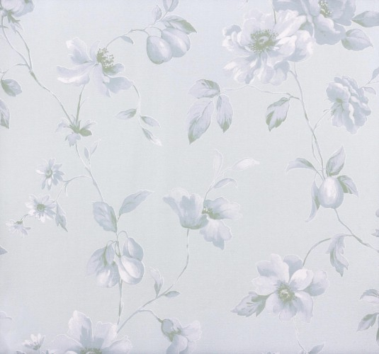Marburg Astoria non-woven wallpaper 53767 flowers blue online kaufen