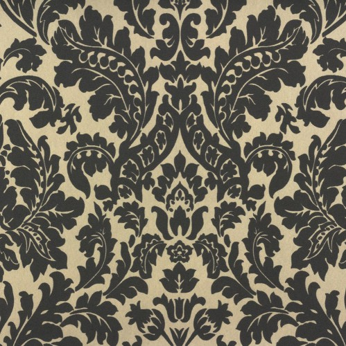 Wallpaper Rasch Bestseller baroque wallpaper 545647 black beige metallic