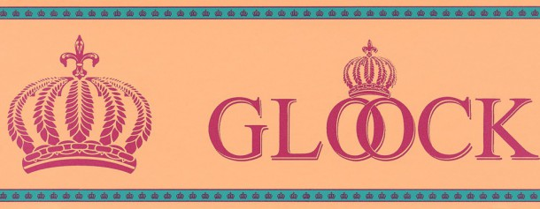 Kinderborte Glööckler orange pink 54167