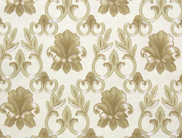 Vliestapete Floral gold AS Creation 94346-3