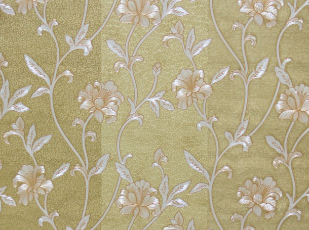 A.S. Hermitage 9 non-woven wallpaper 94344-2 943442 stripes floral gold cream online kaufen