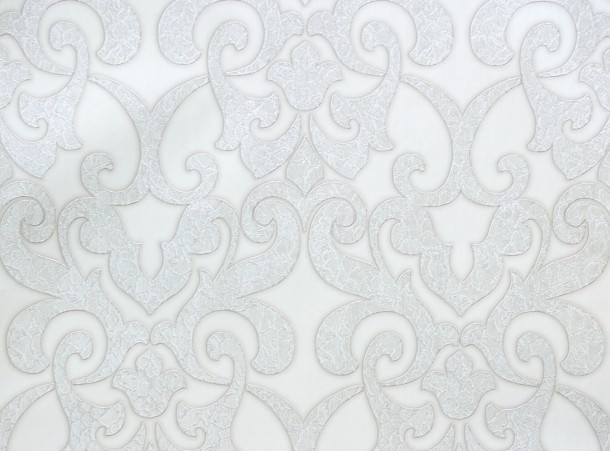 A.S. Hermitage 9 non-woven wallpaper 94342-5 943425 baroque antique white metallic online kaufen