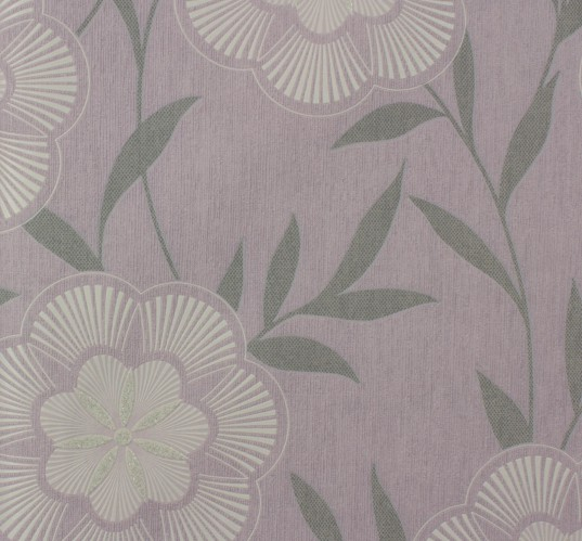 Graham & Brown non-woven wallpaper Eden 32-447 32447 flowers modern rose grey online kaufen