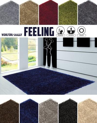sch ner wohnen teppich feeling langflor shaggy uni online kaufen. Black Bedroom Furniture Sets. Home Design Ideas