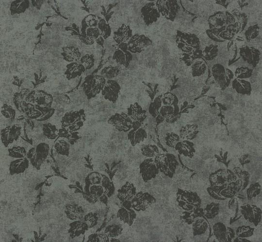 tapete vliestapete uni 1160 93 116093 schwarz grau anthrazit. Black Bedroom Furniture Sets. Home Design Ideas