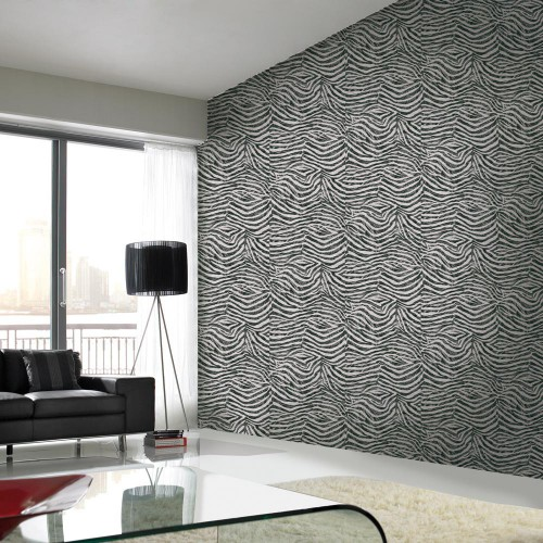 Wallpaper zebra optics grey Graham & Brown Skin 32-635 online kaufen