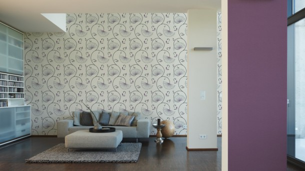 Wallpaper purple uni AS Creation 2995-67 online kaufen