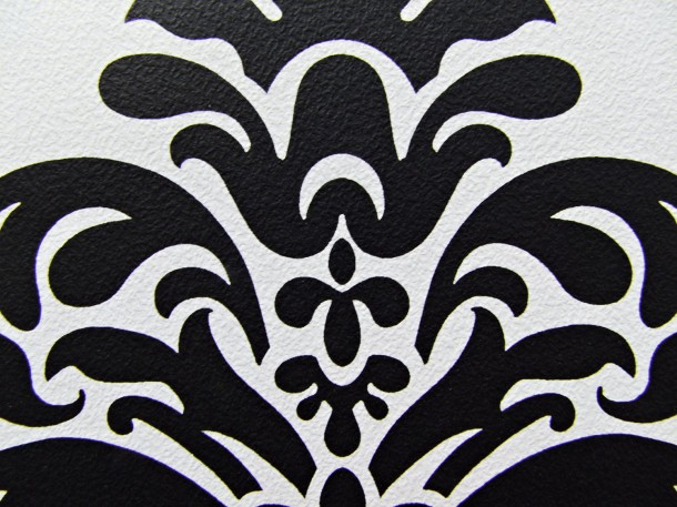 retro barock tapete 266917 lounge tapete schwarz wei. Black Bedroom Furniture Sets. Home Design Ideas