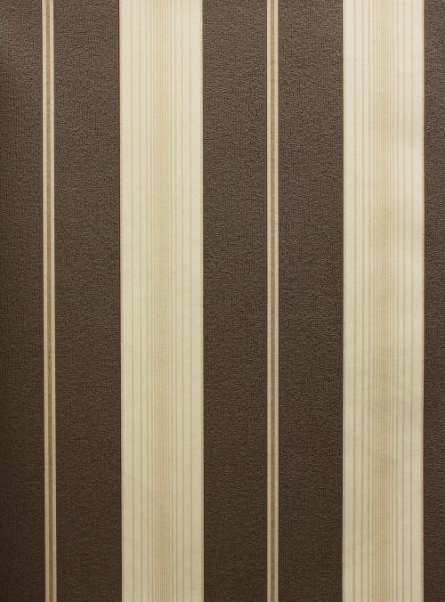 Tapete FLAIR Landhaus Design Vliestapete P+S 03925-10 braun creme