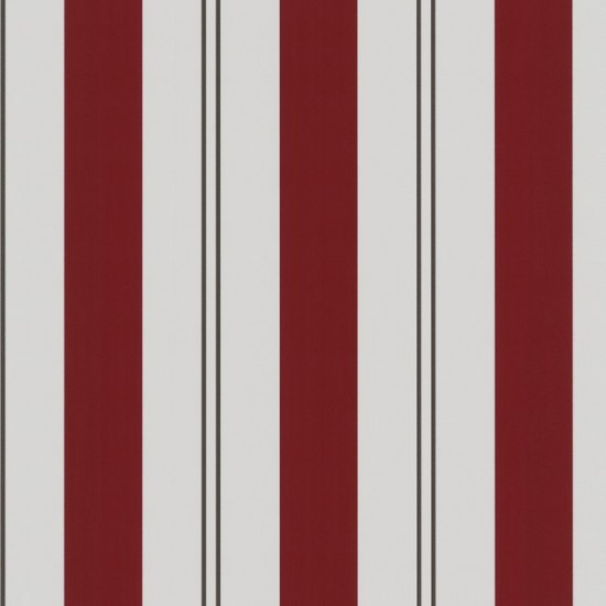 Tapete Selbstklebend Retro : Red and Beige Stripes