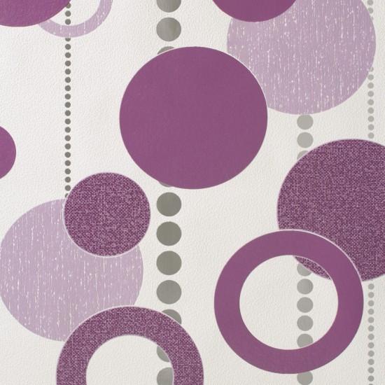 rasch tapete plaisirs 788020 retro design lila. Black Bedroom Furniture Sets. Home Design Ideas