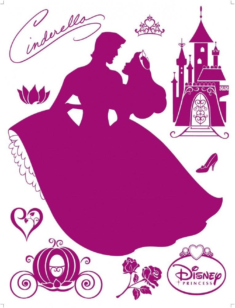 Flock wandtattoo wandsticker tattoo wanddeko disney princess prinzessin - Wandsticker disney ...