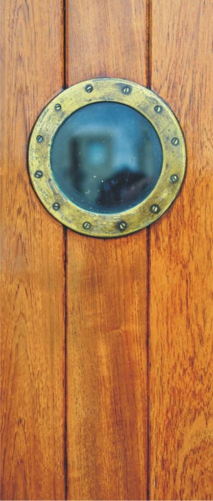 t rtapete fototapete tapete holzt r bullauge schiffsfenster foto 90 cm x 202 cm ebay. Black Bedroom Furniture Sets. Home Design Ideas