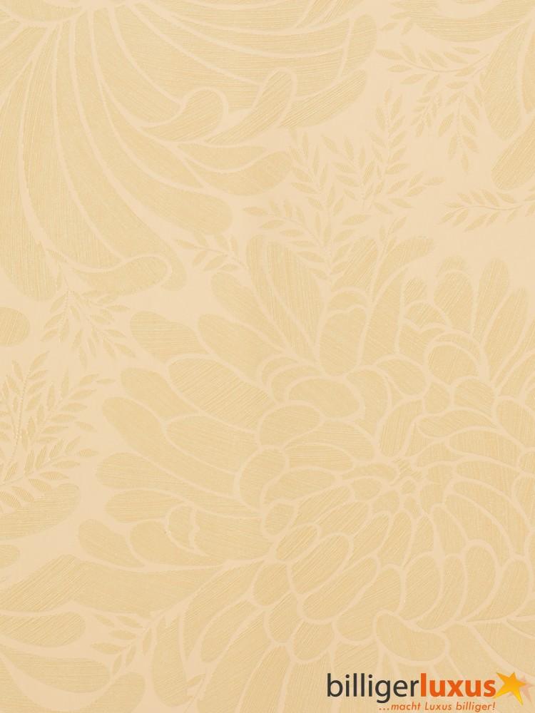 Marburg Tapeten Villanova : Marburg non-woven wallpaper Villanova 51022 flower beige