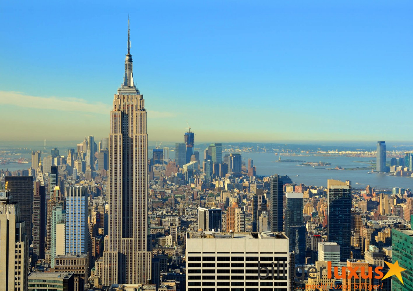 Wall mural wallpaper new york skyline empire state for Building wall mural