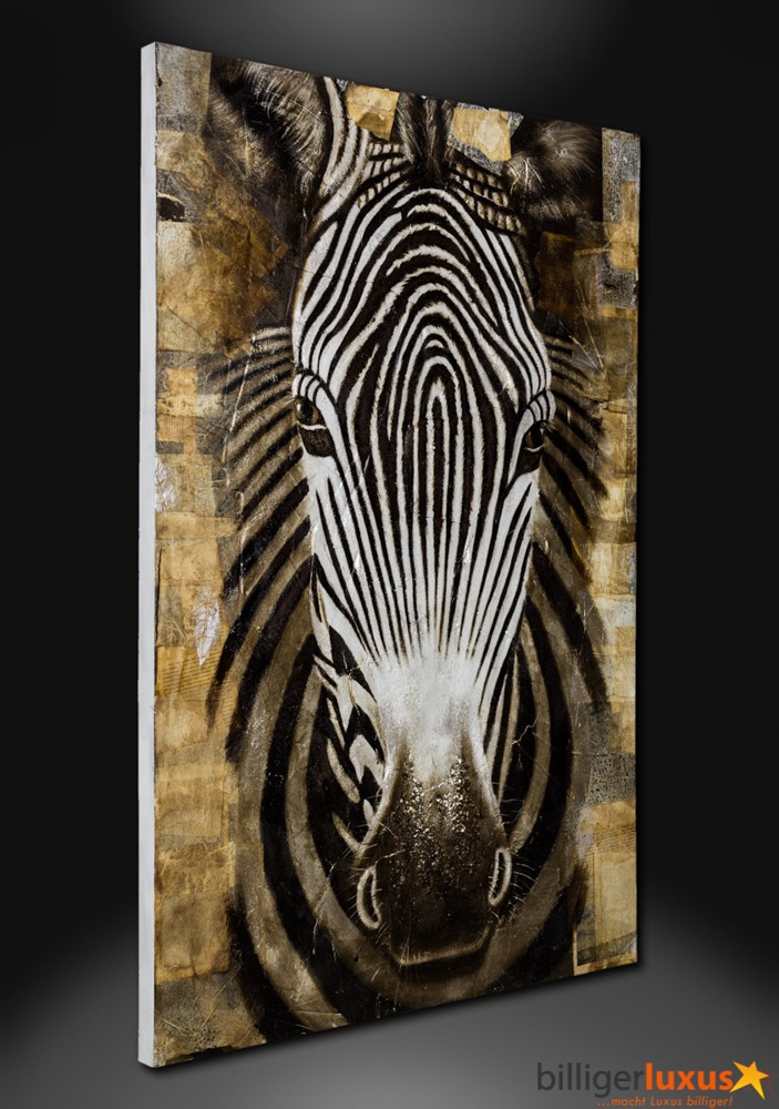 zebra oil painting - photo #26