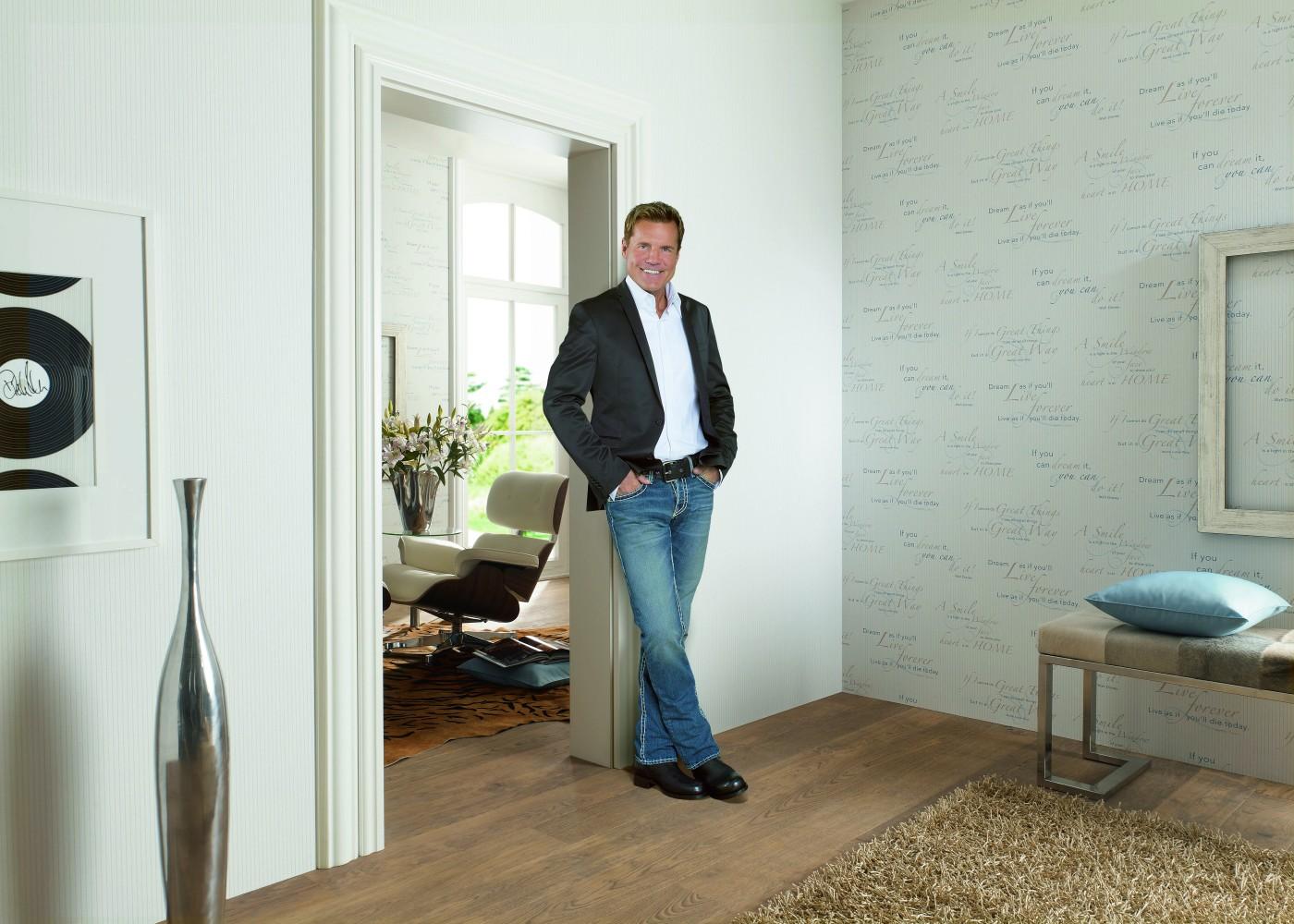 vliestapete dieter bohlen modern talking wei 13158 10. Black Bedroom Furniture Sets. Home Design Ideas
