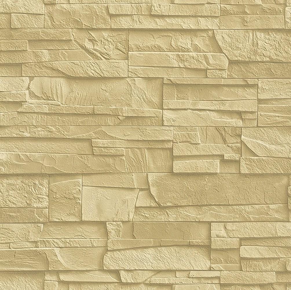 Tapete rasch factory 438338 steine 3d beige creme steintapete - El corte ingles papel pintado ...