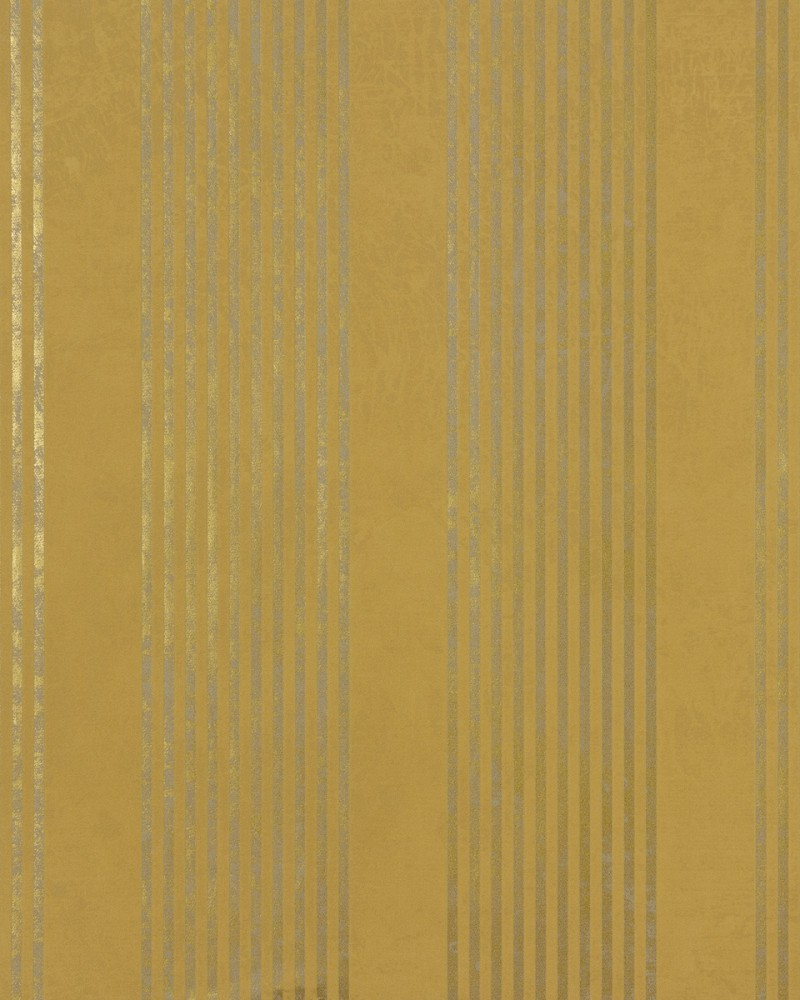 Tapete Gelb Grau Gestreift : Gold Wall with Yellow Stripes