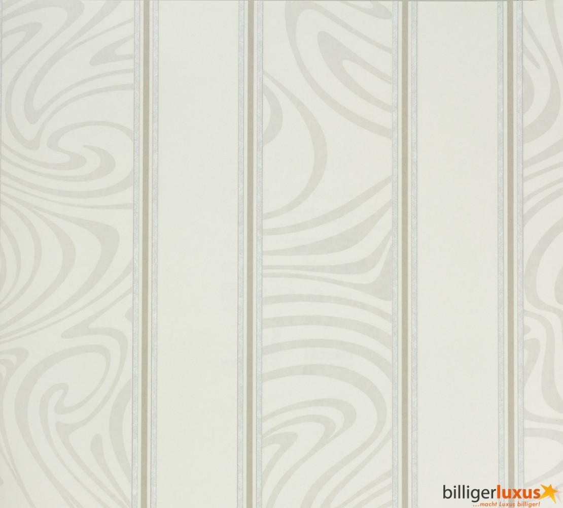 Rasch Tapeten Muster Anfordern : 221267 stripes modern white grey Tapeten Rasch Textil Strictly Stripes