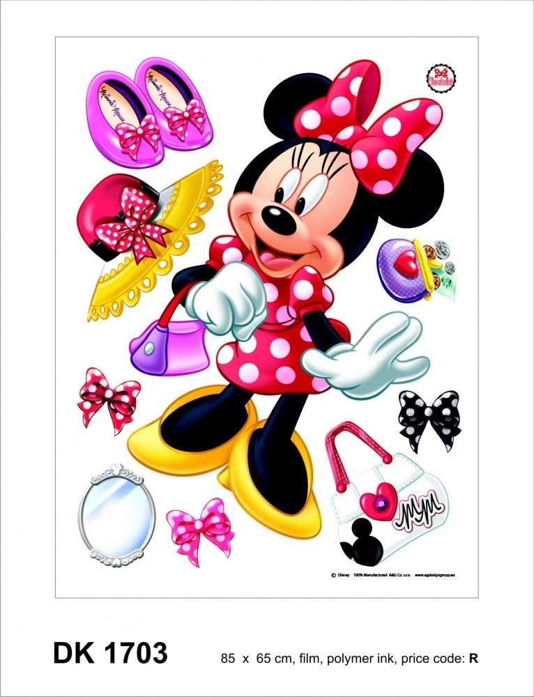 Wandsticker Sticker Wandtattoo Wanddeko Disney Minnie