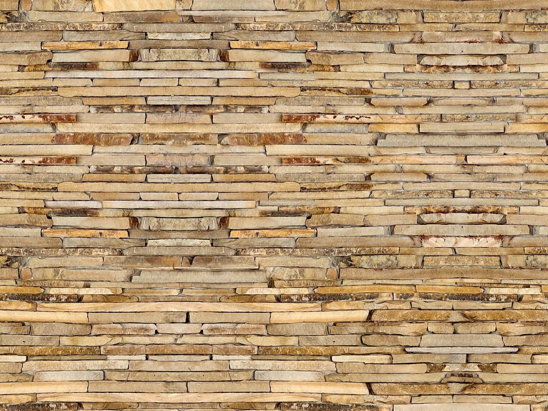 Fototapete tapete steine mauer steinmauer foto 360 x 270 cm for Steinmauer tapete