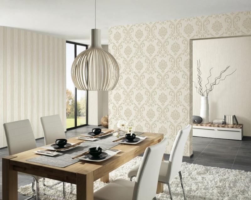 wohnzimmer tapeten ideen beige trendige on moderne deko idee plus ... - Tapete Wohnzimmer Beige