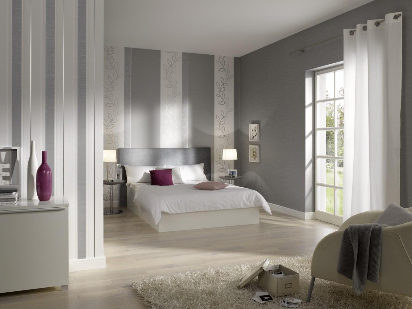 Wohnzimmer ideen wandgestaltung streifen: moderne wandfarben ideen ...
