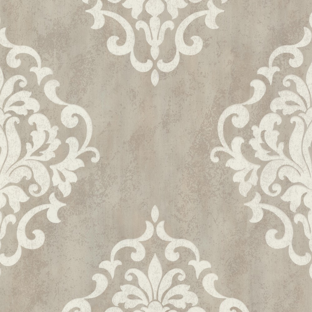 Barock Tapete Schlafzimmer : Tapete Rasch Textil Barock taupe creme 20085