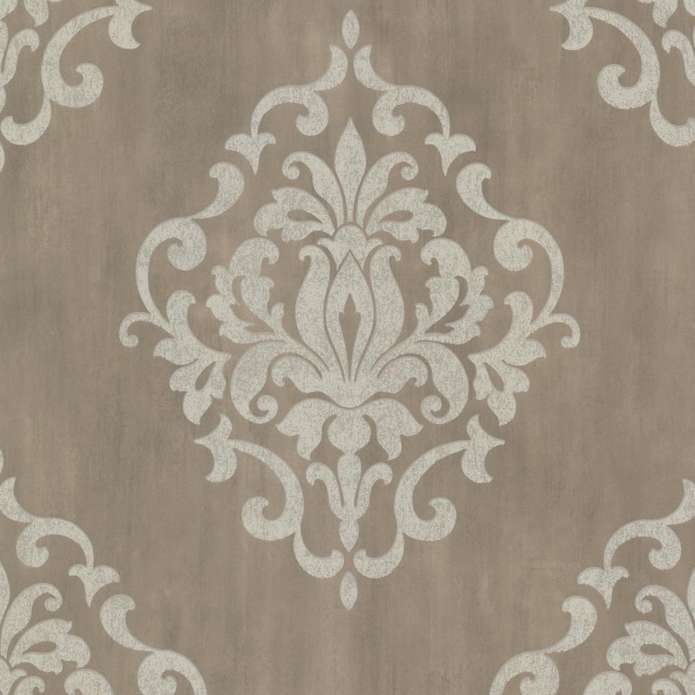 Barock Tapete Schlafzimmer : Tapete Rasch Textil Barock braun creme 20087