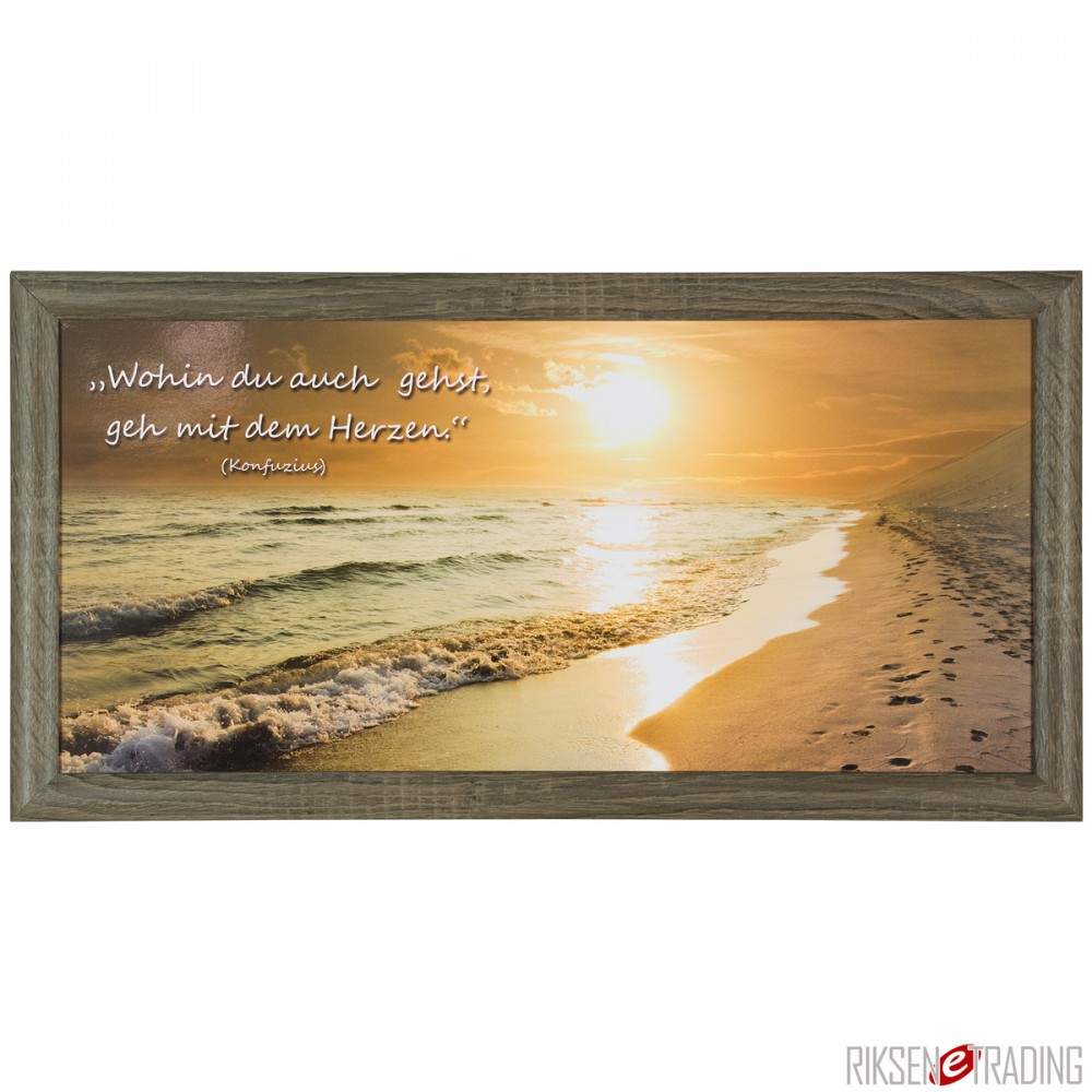 bild wandbild kunstdruck 23x49 konfuzius sonnenuntergang. Black Bedroom Furniture Sets. Home Design Ideas