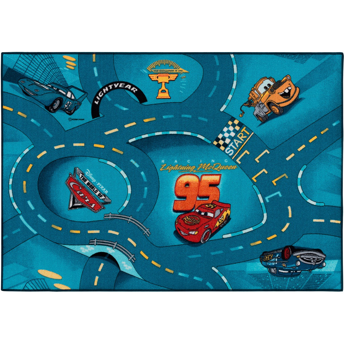 Teppich Kinderteppich Cars 2 World of Cars Teppich
