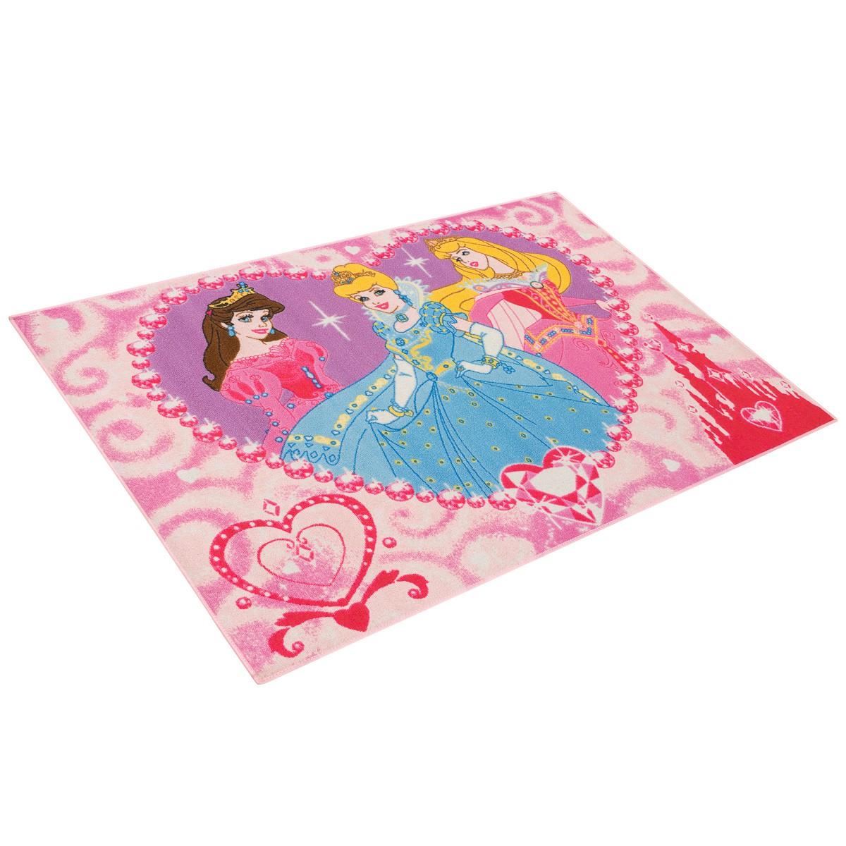 Teppich Kinderteppich Princess Jewels Teppich Prinzessin